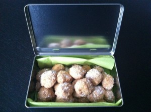 Amaretti (macarons italiens)