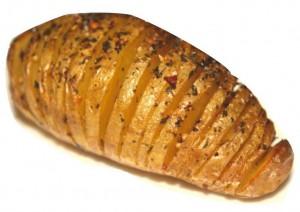 Cajun-Pomme de terre en éventail