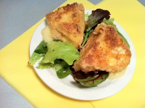 Camembert-frit