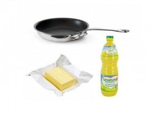 Beurre et huile astuce
